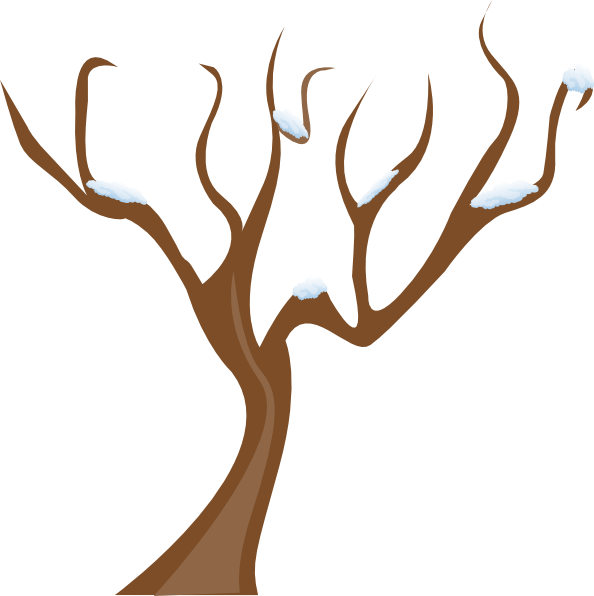 Tree leaves clipart banner free library Tree Without Leaves Clip Art at Clker.com - vector clip art online ... banner free library