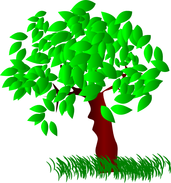 Tree leaves clipart image royalty free library Tree Large Leaves Clip Art at Clker.com - vector clip art online ... image royalty free library