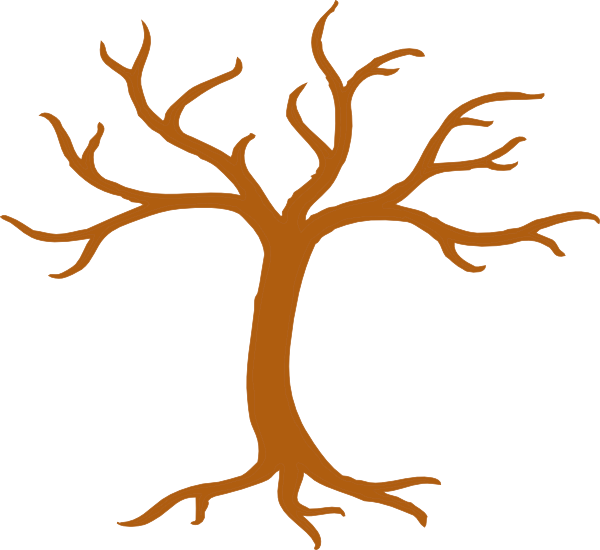 Tree root clipart stock Tree Tall No Leaves Clip Art at Clker.com - vector clip art online ... stock