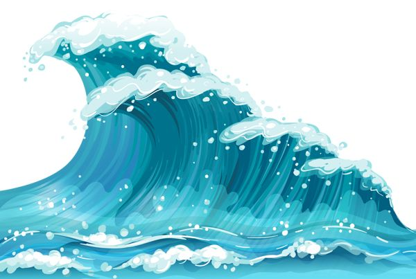 Clipart of a wave clip black and white download Free Wave Cliparts, Download Free Clip Art, Free Clip Art on Clipart ... clip black and white download