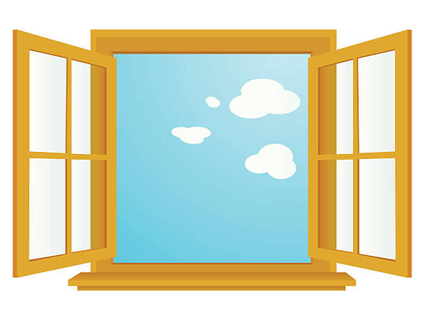Clipart of a window banner black and white library Window clipart 1 » Clipart Station banner black and white library