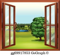 Clipart of a window png royalty free Window Clip Art - Royalty Free - GoGraph png royalty free