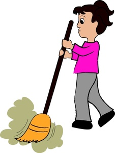 Clipart of a woman on a broom png freeuse download Clipart of a woman on a broom - ClipartFest png freeuse download