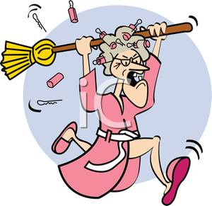 Clipart of a woman on a broom png freeuse Clipart of a woman on a broom - ClipartFest png freeuse