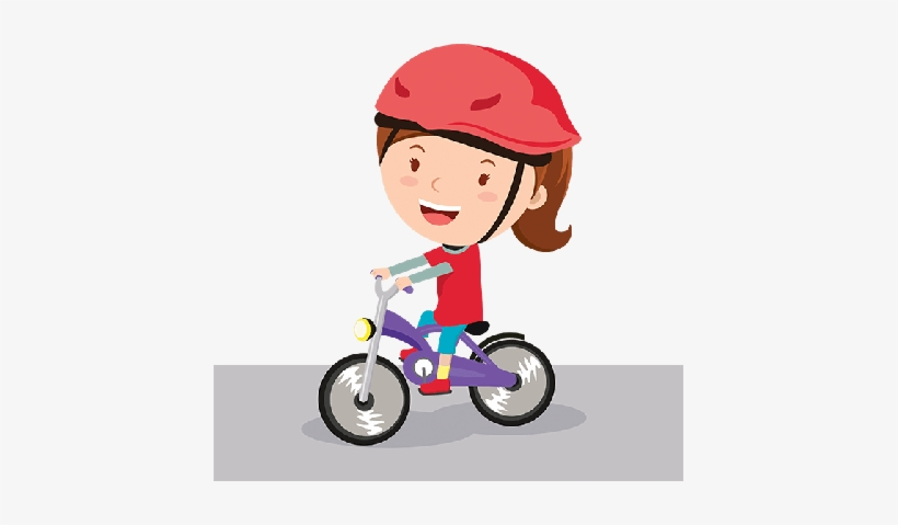 Clipart of a young girl riding a bike clipart royalty free Bikes And Bicycles Girl Riding Bike Clipart The Arts - Girl Riding ... clipart royalty free
