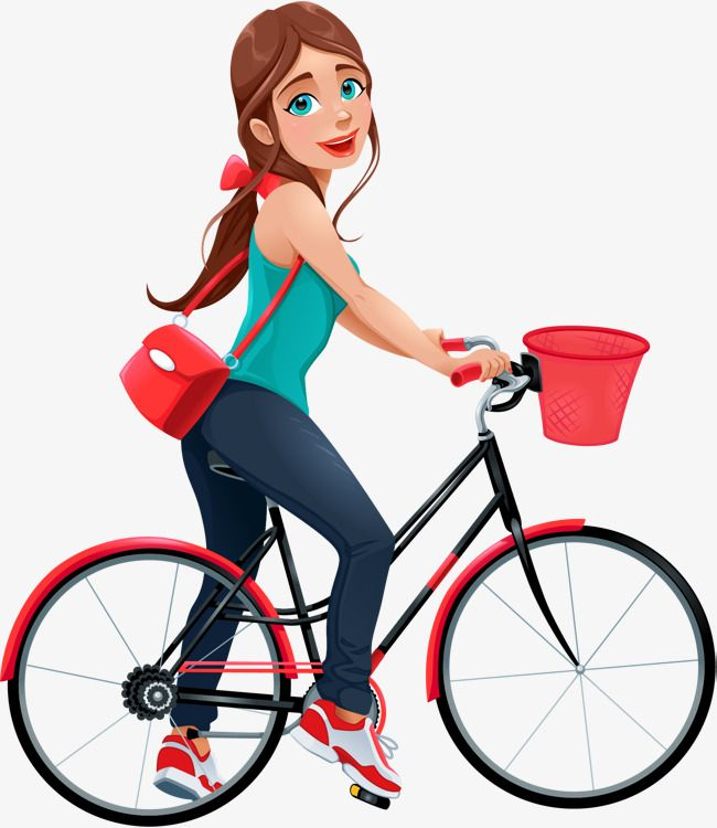 Clipart of a young girl riding a bike black and white Young Girls Riding Bikes, Bicycle, Ride A Bike, Sharing Bikes PNG ... black and white