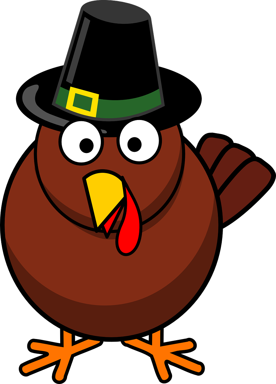 Thanksgiving cute clipart turkey with pilgrim png transparent It Is The Time Of Year To Be Thankful – Even At Work - Clear Choice ... png transparent