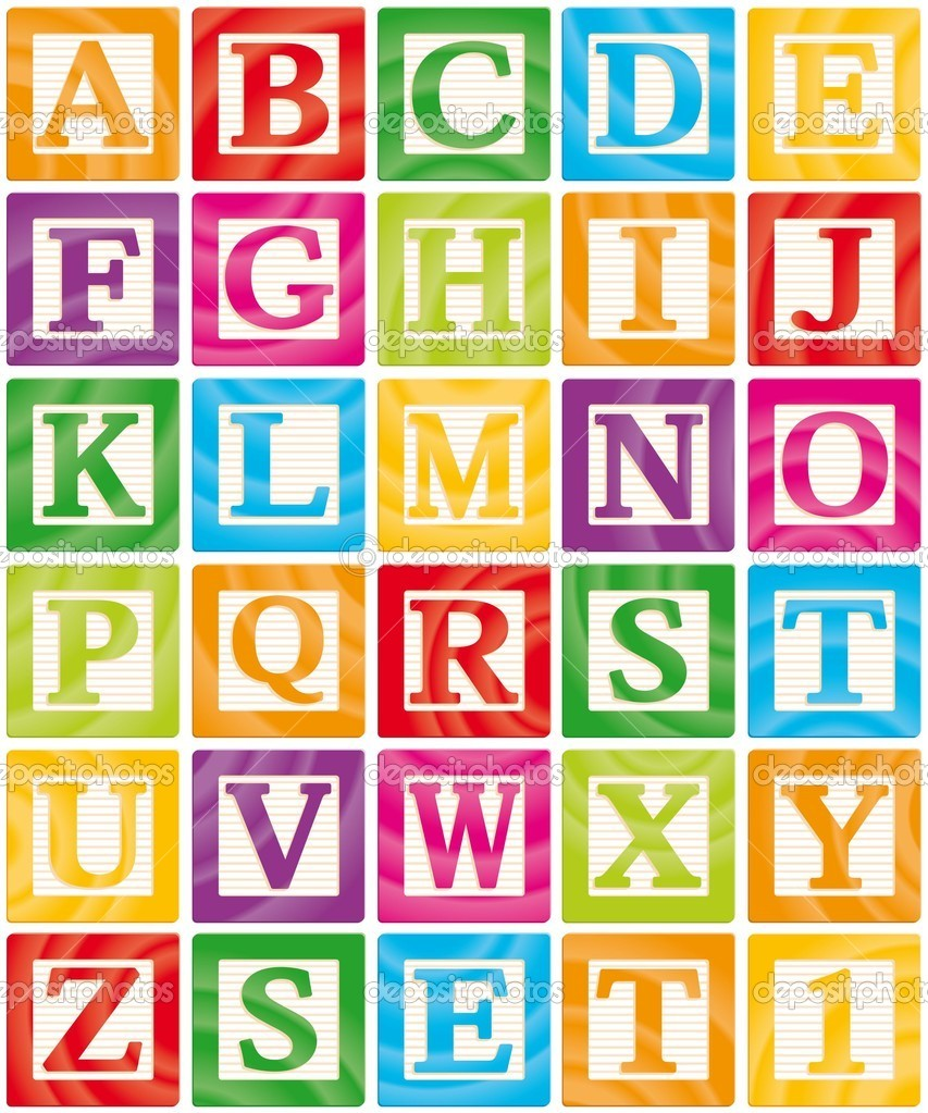 Clipart of alphabet letter blocks transparent stock images of vector baby blocks set 1 of 3 capital letters alphabet ... transparent stock