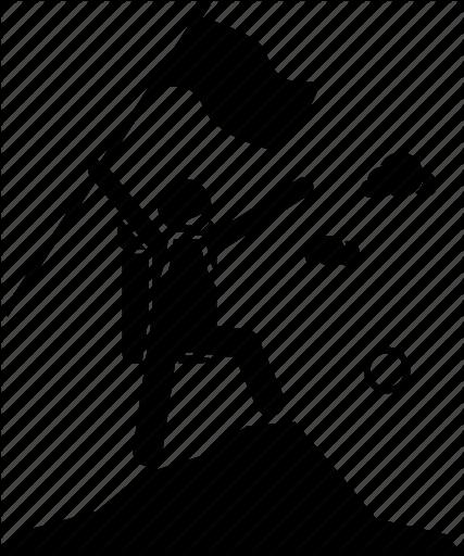 Clipart of an adventurer going up a mountain vector transparent download \'Adventure\' by Gan Khoon Lay vector transparent download