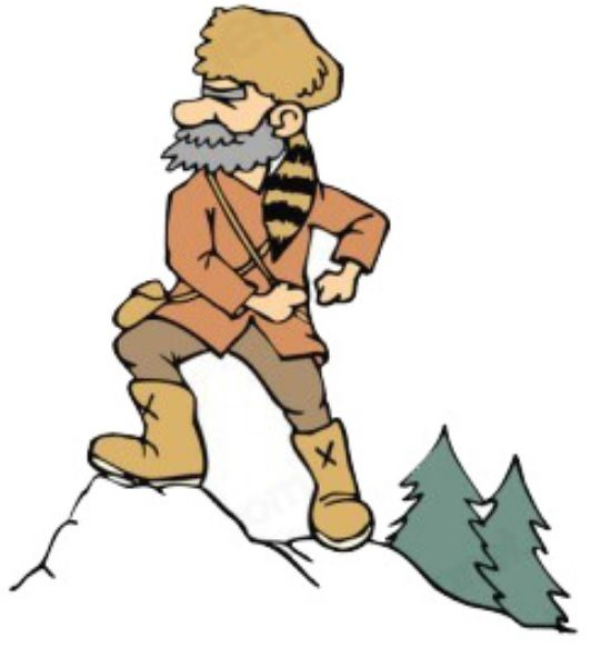 Clipart of an adventurer going up a mountain free download Mountain Man, Adventurer; Peg Leg Smith | PREPARE TODAY for a BETTER ... free download