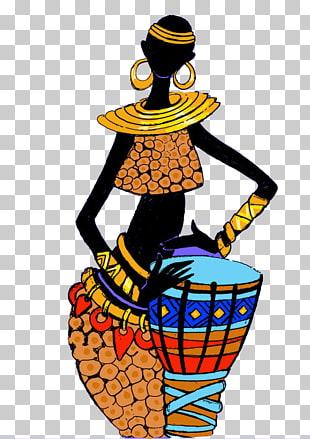 Clipart of an african woman wearing kentu cloth transparent stock Africa Head tie Woman Fashion Clothing, Africa PNG clipart | free ... transparent stock