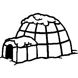 Clipart of an eskimo house clipart black and white download Free Igloo Cliparts, Download Free Clip Art, Free Clip Art on ... clipart black and white download