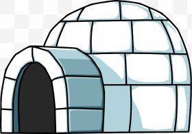 Clipart of an eskimo house graphic black and white library Igloo Images, Igloo PNG, Free download, Clipart graphic black and white library