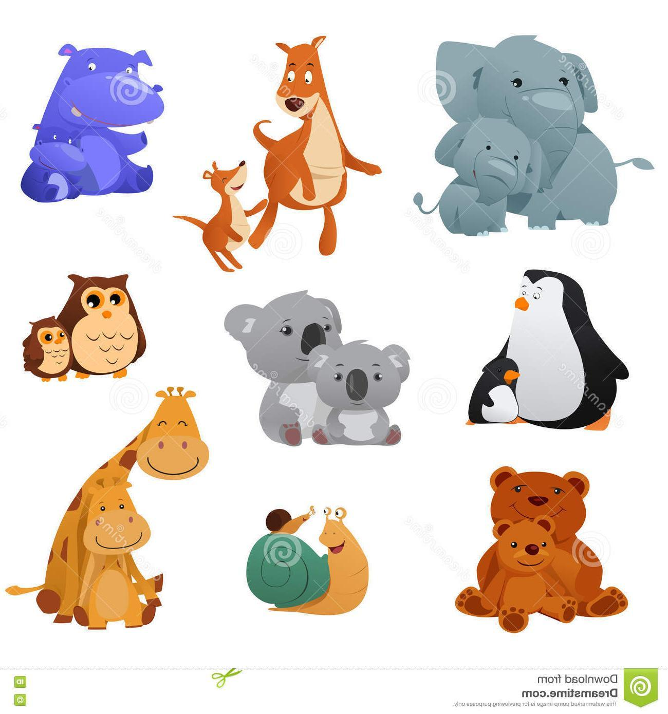 Clipart of animals and their young freeuse download Animals and their young clipart 3 » Clipart Portal freeuse download