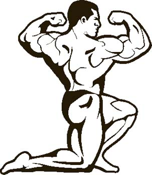 Clipart of animated black man working out clip stock Workout Images Cartoon | Free download best Workout Images Cartoon ... clip stock