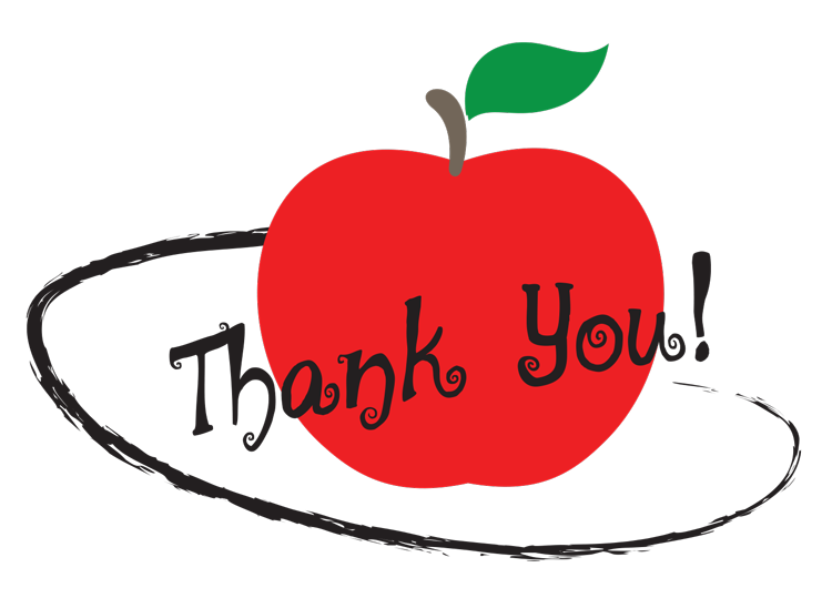 Clipart of apple with educational things inside png library 8 Gifts to Thank Your School Employees this Christmas Season ... png library
