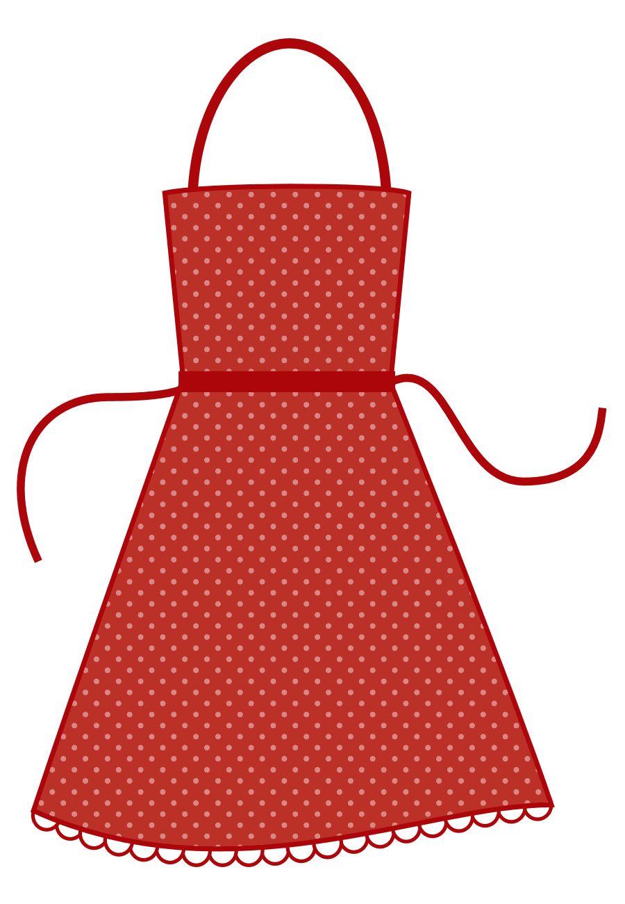 Clipart of apron jpg royalty free Free Red Apron Cliparts, Download Free Clip Art, Free Clip Art on ... jpg royalty free