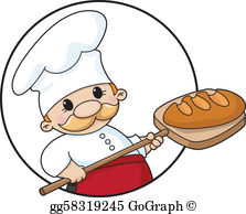 Clipart of baker image library Baker Clip Art - Royalty Free - GoGraph image library