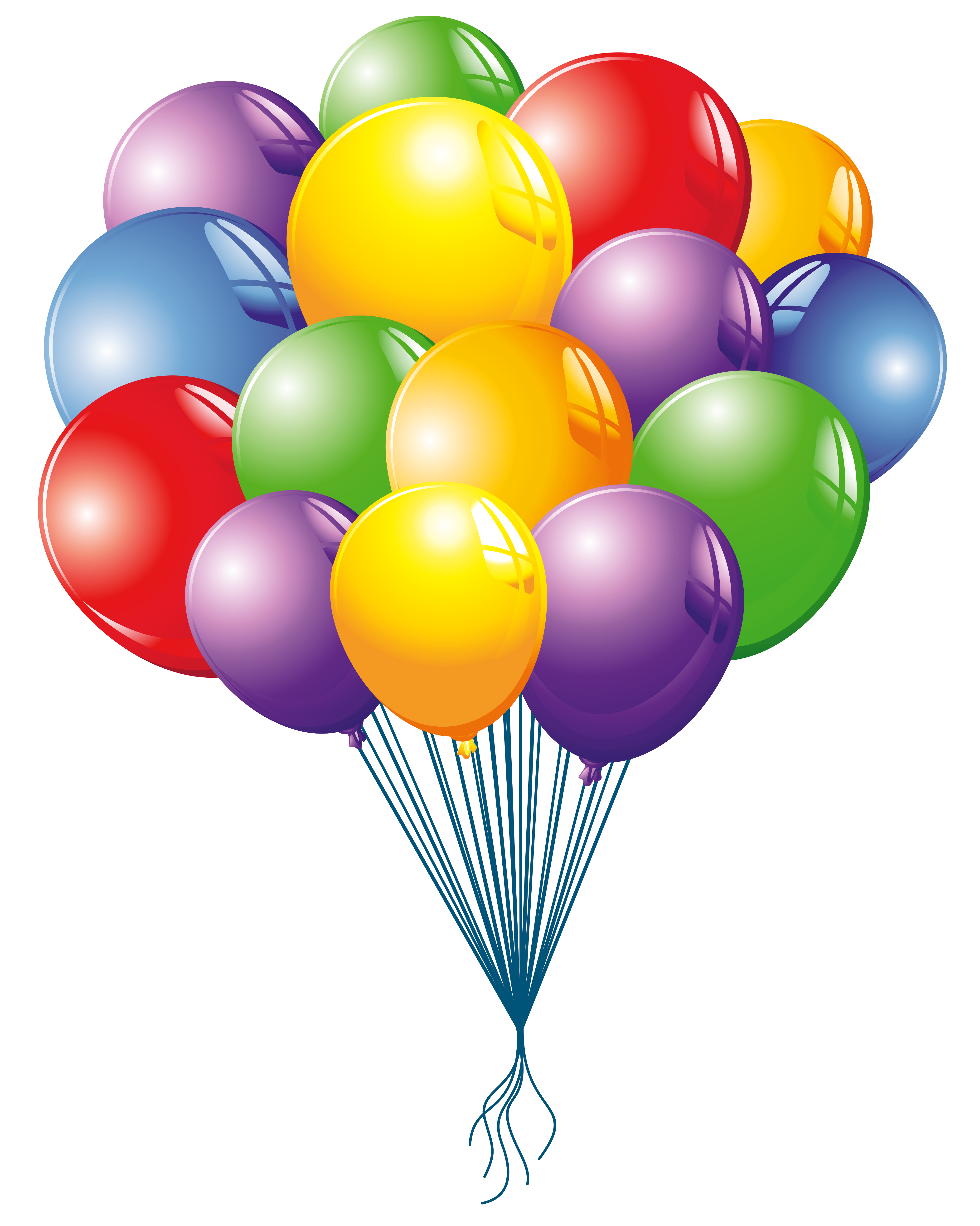 Clipart of balloons vector free Balloons Clipart Image | Gallery Yopriceville - High-Quality Images ... vector free