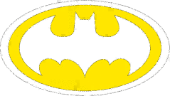 Clipart of batman logo vector freeuse Batman Signal Clipart - Clipart Kid vector freeuse