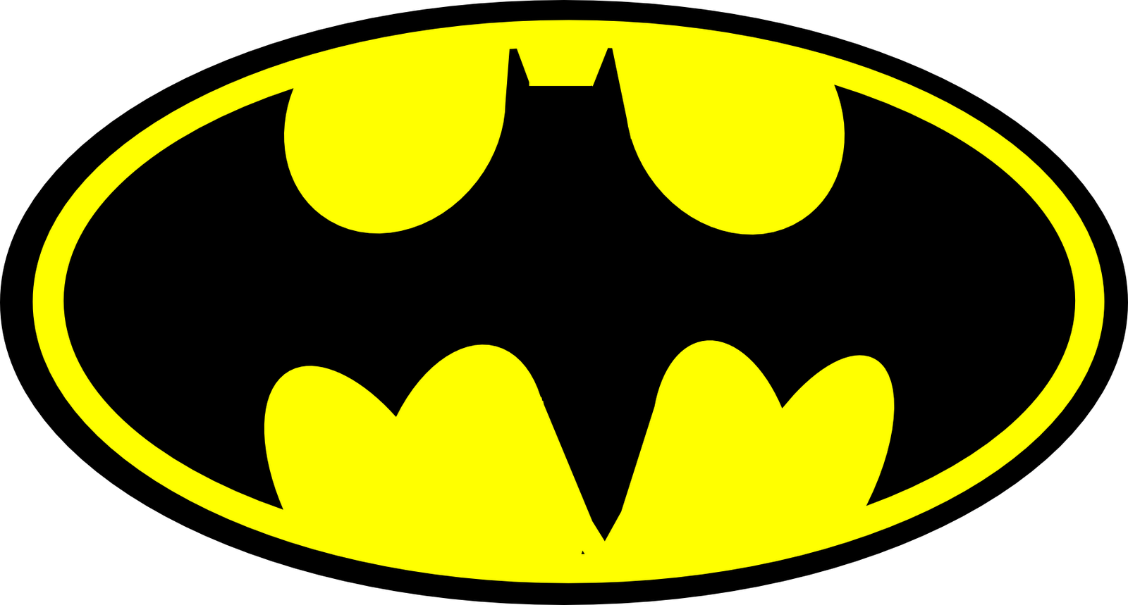 Clipart of batman logo image transparent library Batman Transparent Background Clipart - Clipart Kid image transparent library