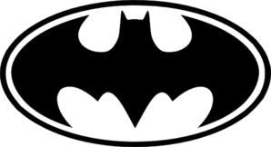 Clipart of batman logo banner black and white download Clipart of batman logo - ClipartFest banner black and white download