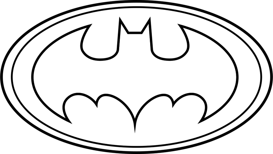 Clipart of batman logo vector freeuse download Batman Symbol Template - ClipArt Best vector freeuse download