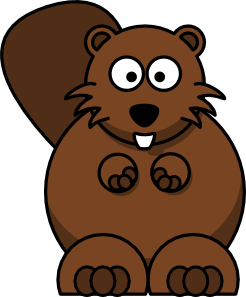 Clipart of beaver clip art free stock Cartoon Beaver clip art - vector clip art online, royalty free ... clip art free stock