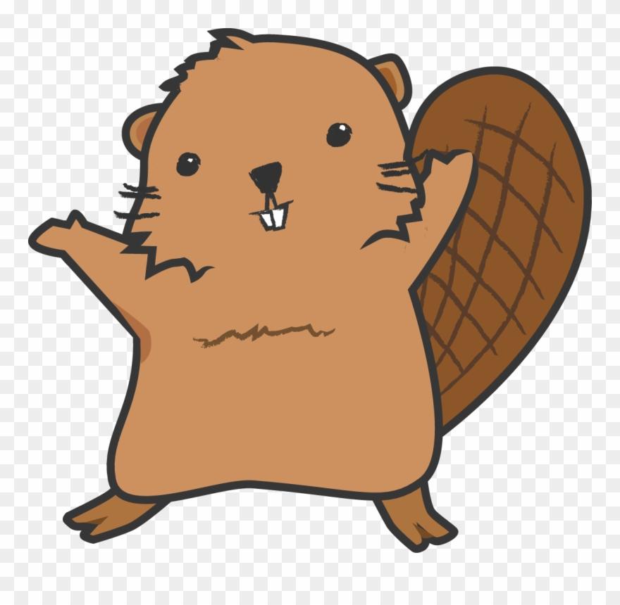 Clipart of beaver clip free stock Graphic Freeuse Library Cartoon Beaver Clipart - Beaver Cartoon No ... clip free stock