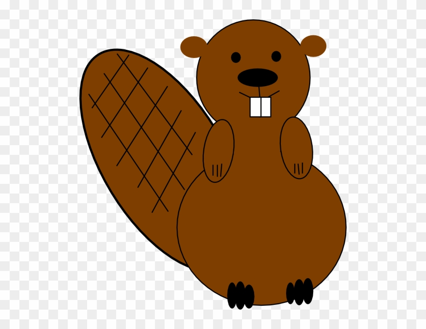 Clipart of beaver banner royalty free download Clip Art At Clker - Free Beaver Clip Art - Png Download (#144929 ... banner royalty free download