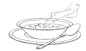Clipart of beef stew black and white picture free Image result for bowl of soup clipart black and white ... picture free