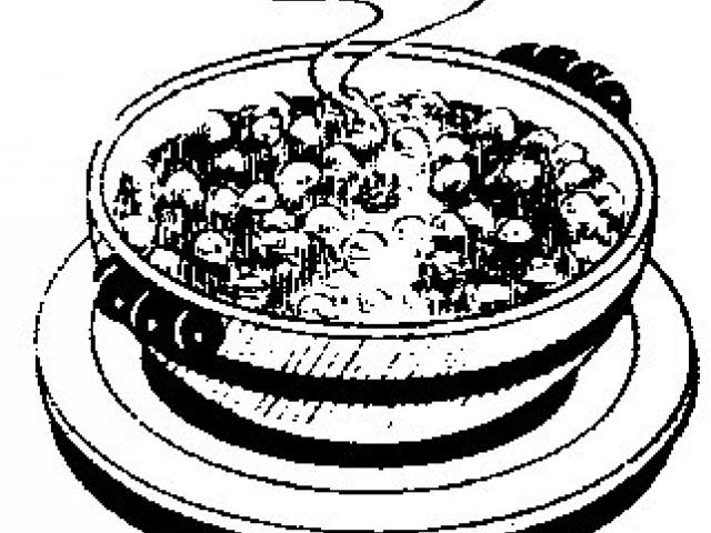 Clipart of beef stew black and white png library library Free Stew Clipart, Download Free Clip Art on Owips.com png library library
