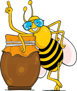Clipart of bees honey clipart transparent library 113 honey bee clip art free | Public domain vectors clipart transparent library