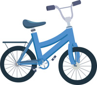 Kids bike clipart image royalty free library Free Bicycle Clip Art, Download Free Clip Art, Free Clip Art on ... image royalty free library