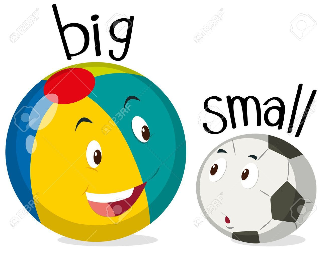 Clipart of big and small objects vector freeuse library Big and small objects clipart 1 » Clipart Portal vector freeuse library