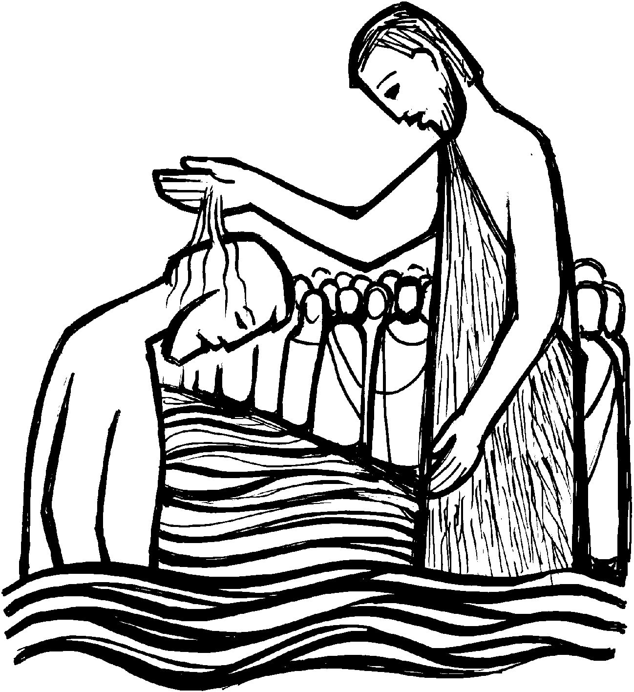 Clipart of black baptism vector black and white library Baptism Clipart Black And White | Free download best Baptism Clipart ... vector black and white library