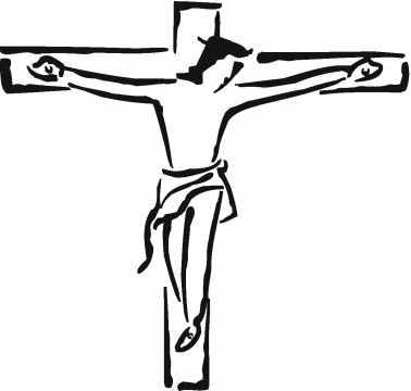 Clipart of black jesus on the cross royalty free library Jesus On The Cross Black And White | Free download best Jesus On The ... royalty free library