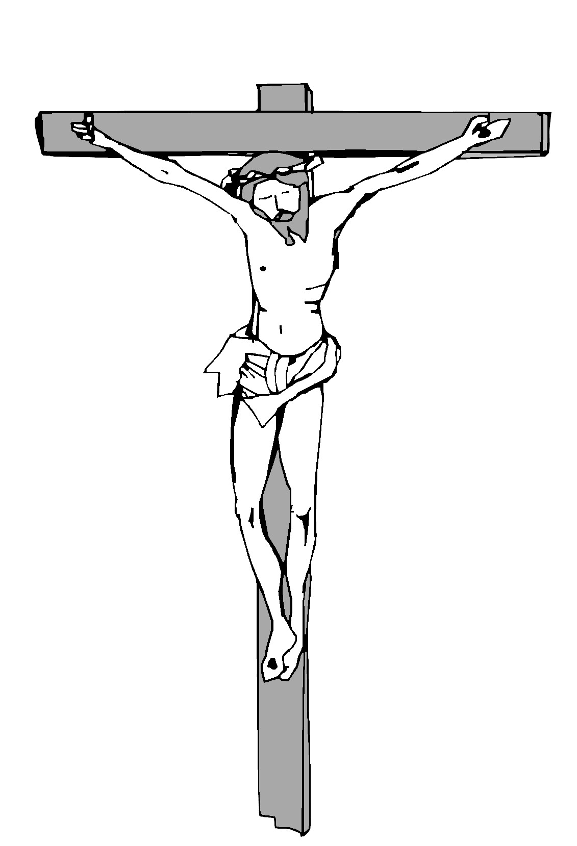 Clipart of black jesus on the cross vector library download Free Pictures Of Black Jesus On The Cross, Download Free Clip Art ... vector library download