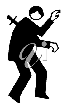 Clipart of black man with knife in back svg free Stabbed clipart images and royalty-free illustrations | iCLIPART.com svg free
