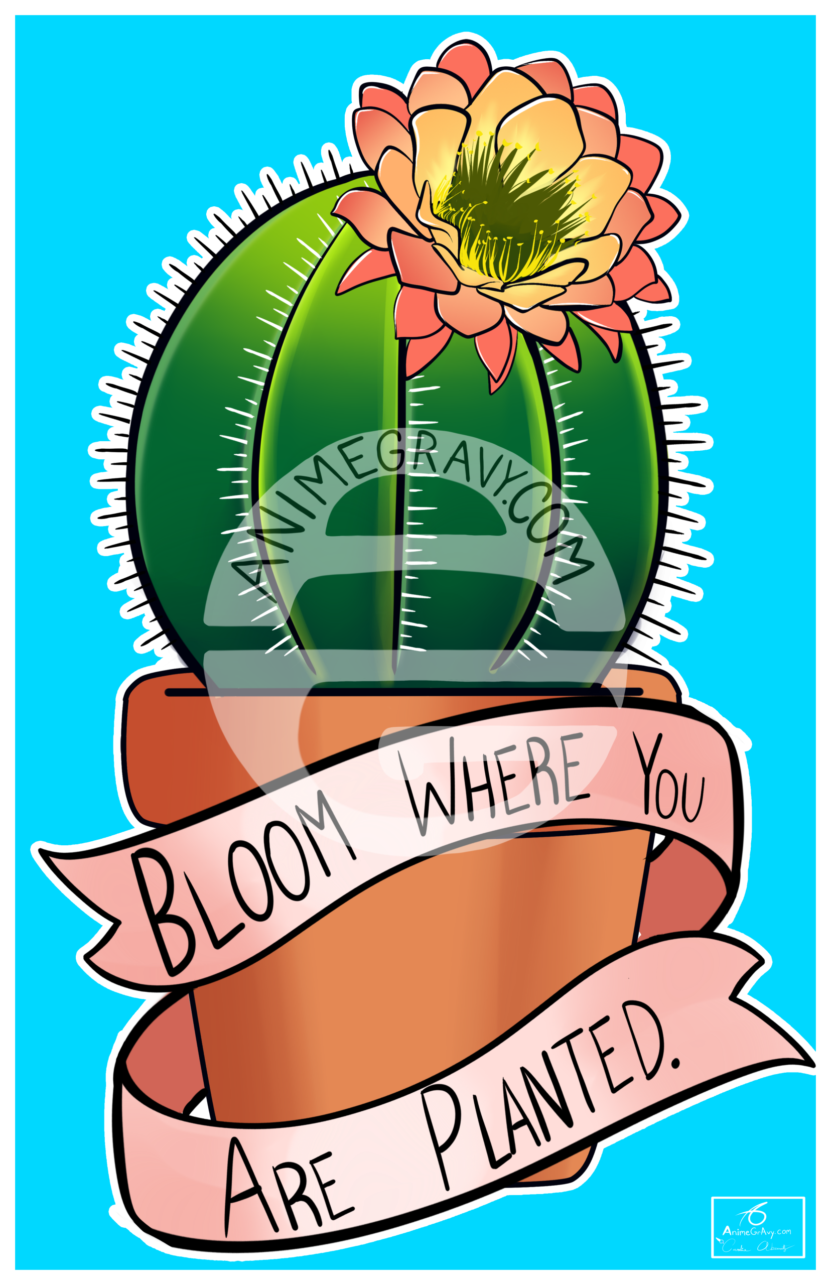 Clipart of bloom where you are planted picture black and white library Bloom Where You Are Planted picture black and white library