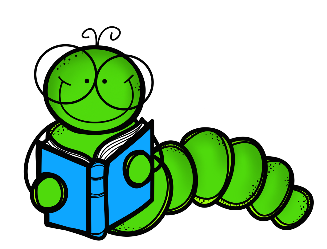 Clipart of book worm graphic free library Revitalizing a Classroom Library ! | Adventures in Literacy Land graphic free library