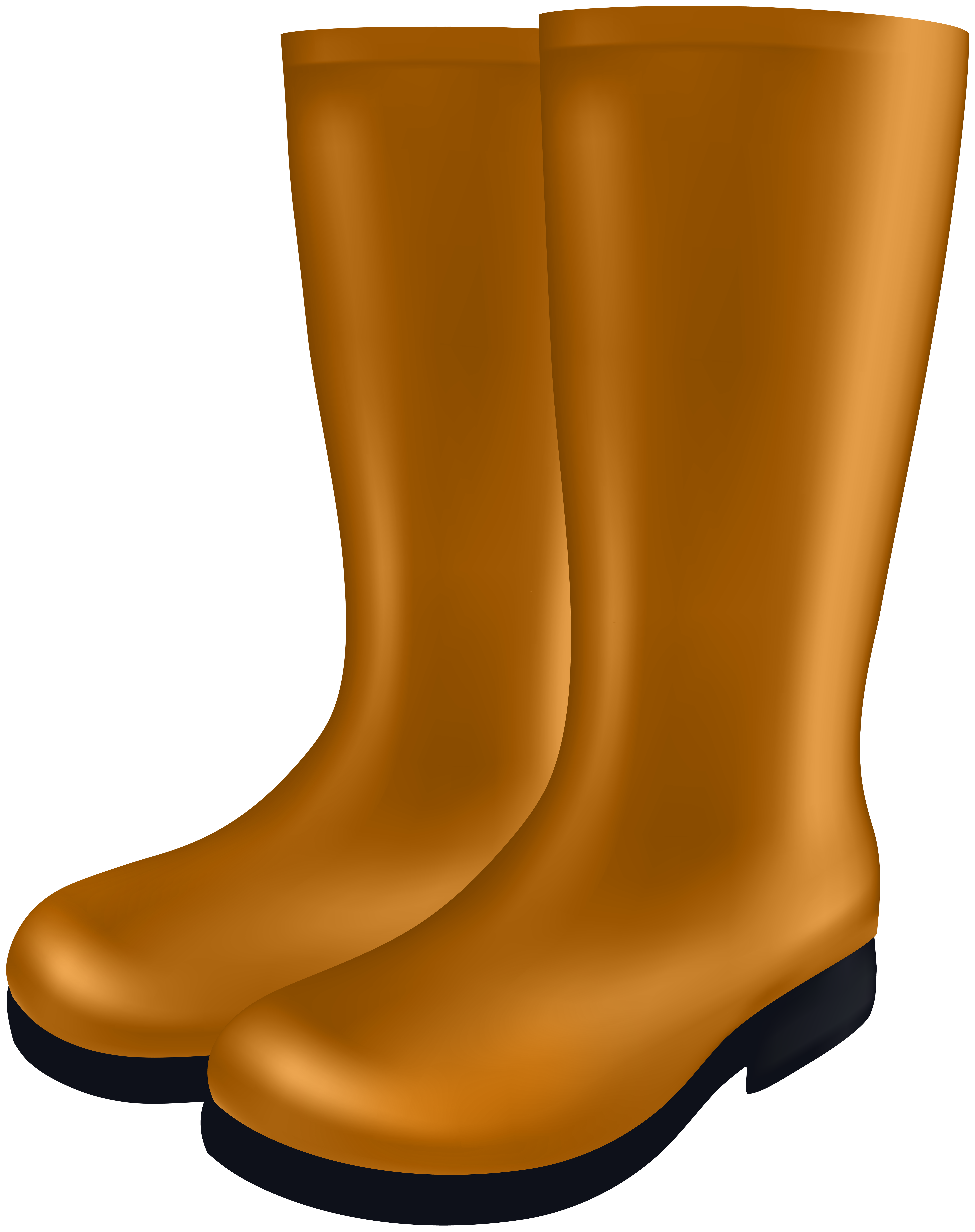 Clipart of boots picture black and white library Rubber Boots PNG Clip Art Image | Gallery Yopriceville - High ... picture black and white library