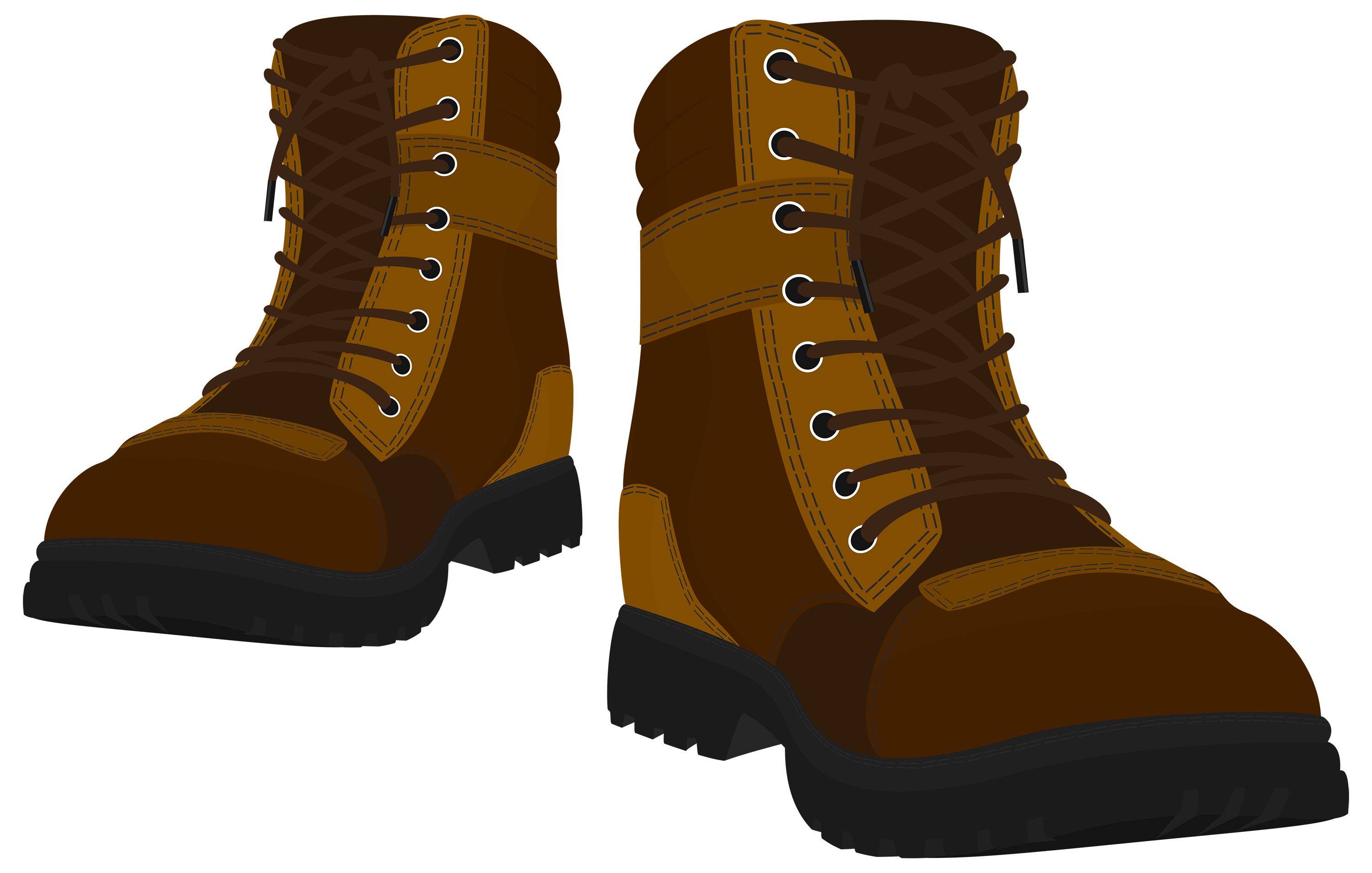 Clipart of boots image royalty free library Brown Male Boots PNG Clipart - Best WEB Clipart image royalty free library