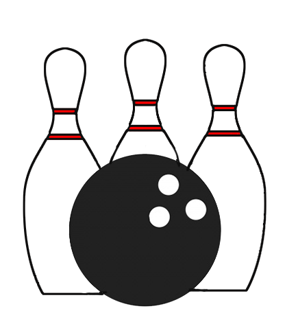 Bowling pictures clipart png black and white stock Bowling Clipart | Free download best Bowling Clipart on ClipArtMag.com png black and white stock