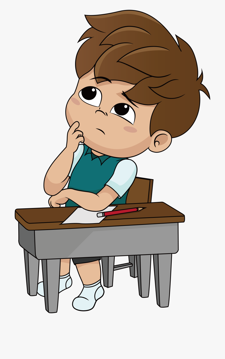 Clipart of boy thinking jpg royalty free library Boy Thinking Png - Boy Thinking Clipart #142269 - Free Cliparts on ... jpg royalty free library