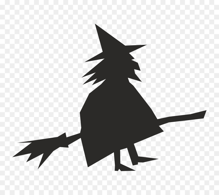 Clipart of bruja in black and white graphic free download Witch Cartoon png download - 800*800 - Free Transparent Broom png ... graphic free download