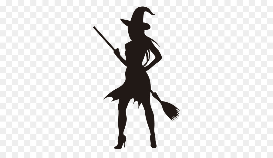 Clipart of bruja in black and white banner freeuse library Witch Cartoon clipart - Silhouette, Drawing, Black, transparent clip art banner freeuse library