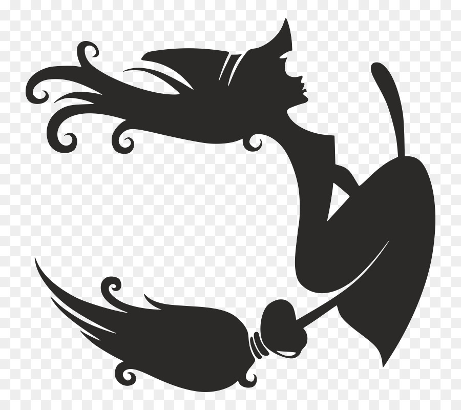 Clipart of bruja in black and white clip art freeuse library png download - 800*800 - Free Transparent Witchcraft png Download. clip art freeuse library