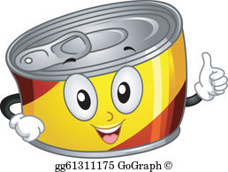 Clipart of canned food picture free stock Canned Foods Clip Art - Royalty Free - GoGraph picture free stock