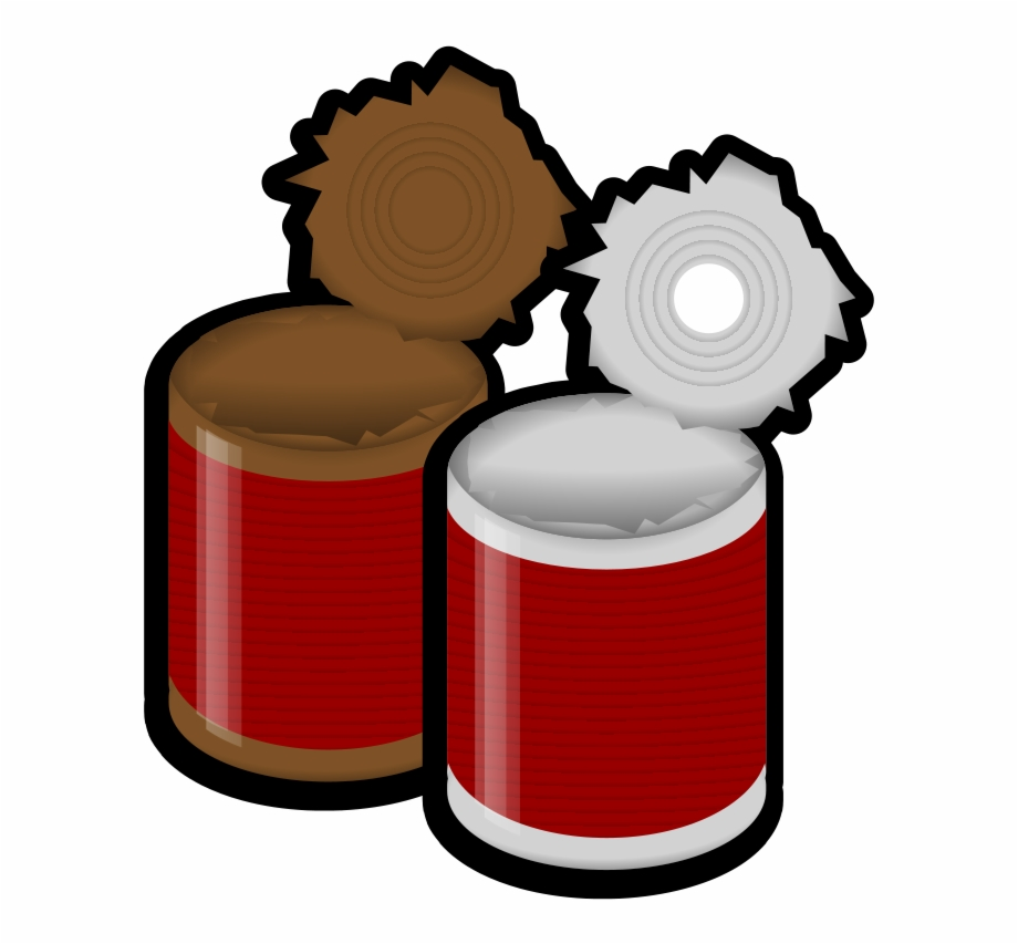 Cans clipart png black and white library Free Canned Food Clipart, Download Free Clip Art, Free - Tin Cans ... png black and white library